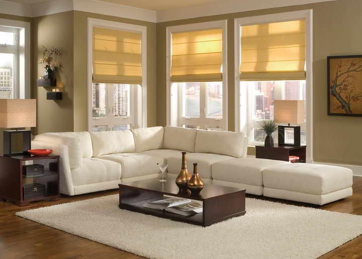 Современные диваны в интерьере гостиной фото