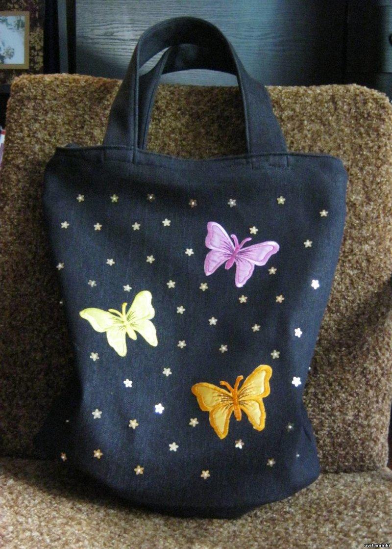 Как украсить сумку для девочки 117