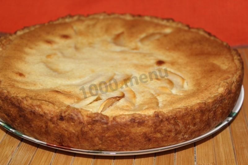 Рецепт яблочного пирога пошаговый рецепт с фото