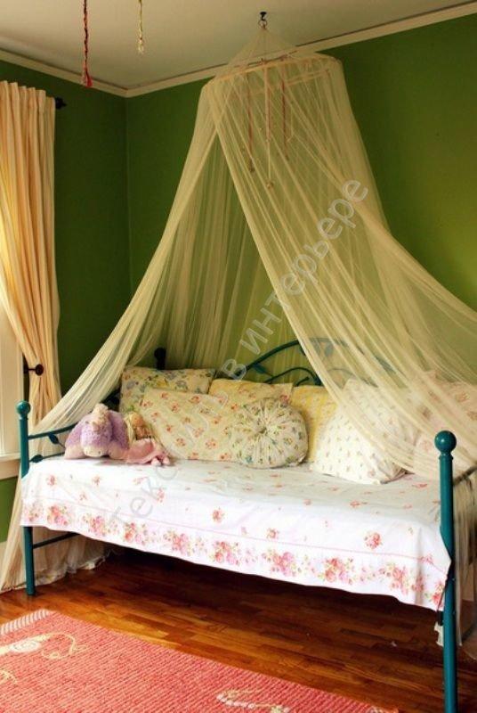 Балдахин для детской кроватки как сделать