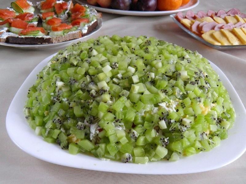 Салат изумрудная россыпь рецепт с очень вкусный