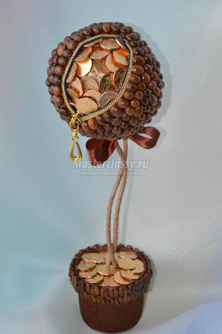 Поделки из монет своими руками мастер класс денежное дерево 181