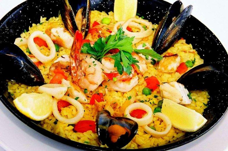 Паэлья с морепродуктами классическая пошаговый рецепт с