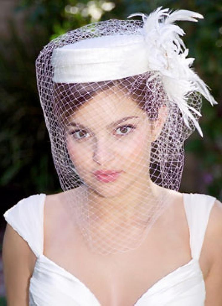 Шляпки для невест своими руками 722