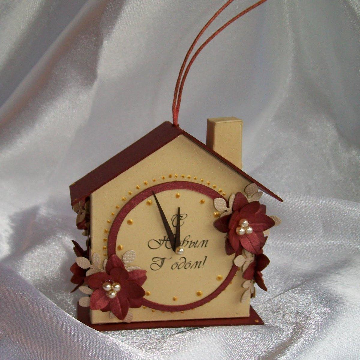 Часы поделки на конкурс