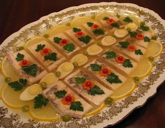Заливное из рыбы пошаговый рецепт с фото сом