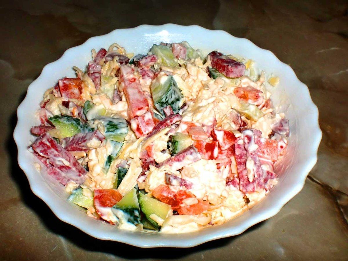 Рецепты простых и вкусных салатов с пошаговым фото