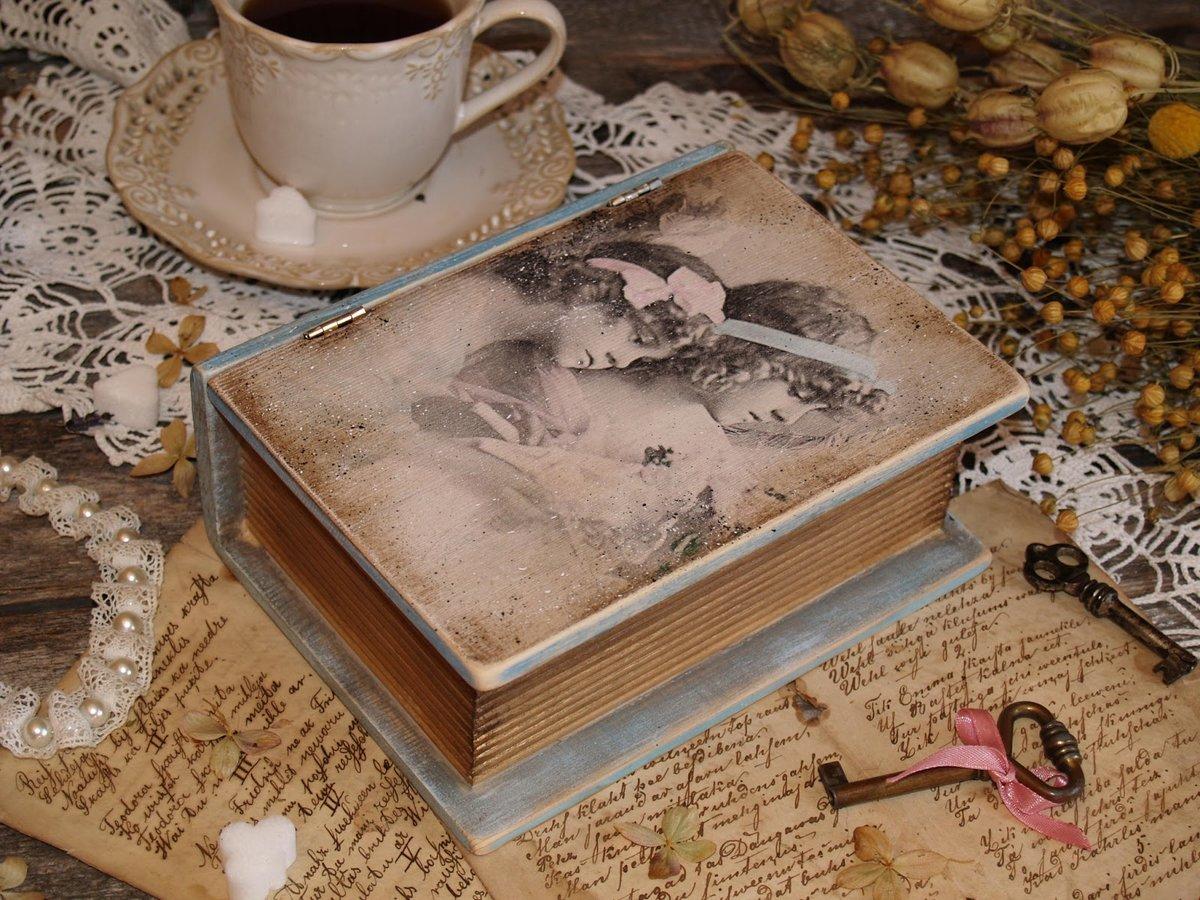 Шкатулка своими руками из старой книги