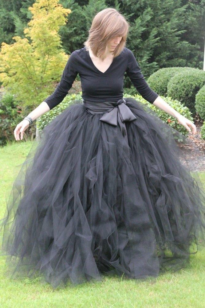 Длинная юбка туту своими руками 4