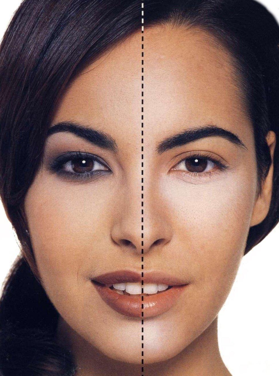 Перманентный макияж для нависших век фото