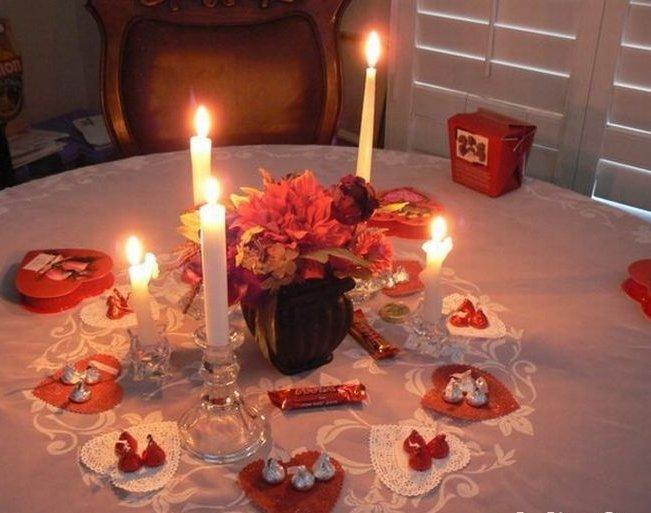 Как сделать романтический вечер для девушки домашнее 147