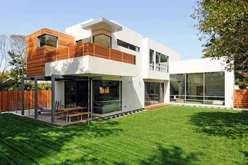 Строим дом в стиле хай тек