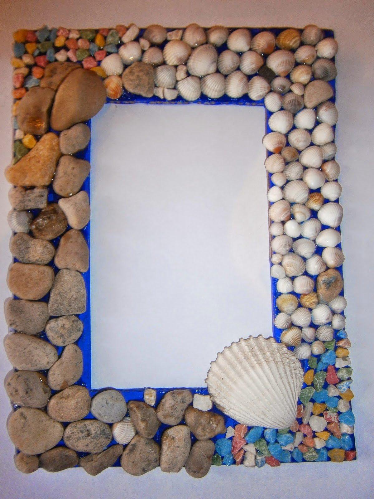 Фоторамки своими руками из морских камней