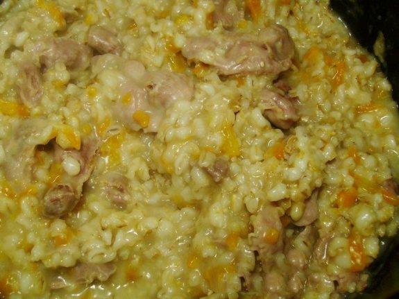 Перловая каша в мультиварке с курицей рецепты с фото