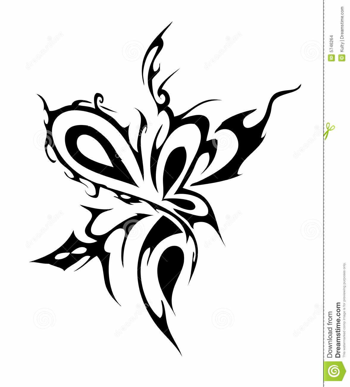 Чёрно белые картинки тату абстракции