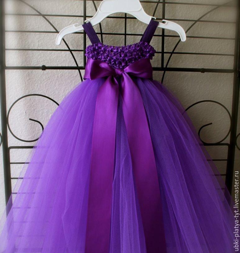 Сшить платье с фатина 39