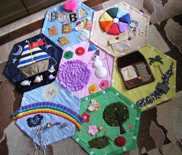 Как сделать развивающие игрушки своими руками для детей от 15 лет