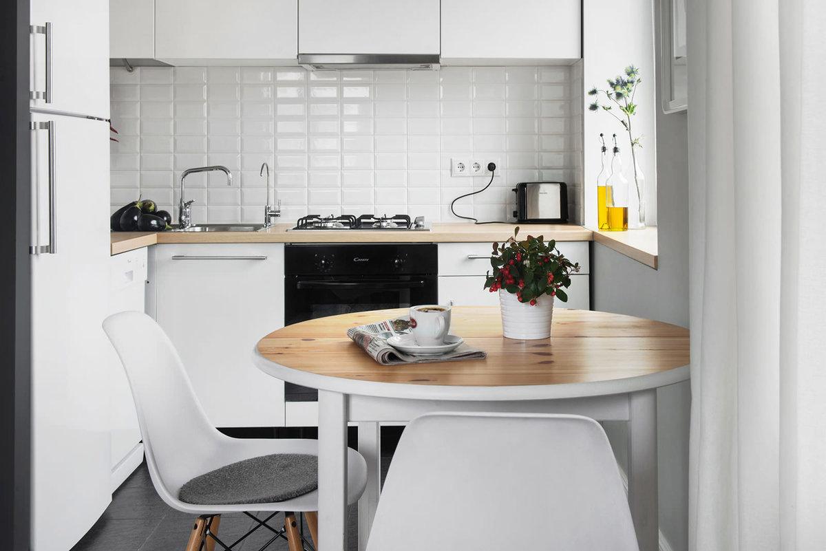 Дизайн кухонь в маленькой кухне