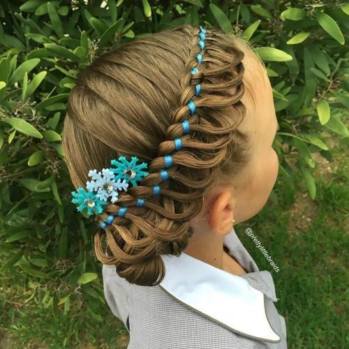 Фото причесок кос для девочек