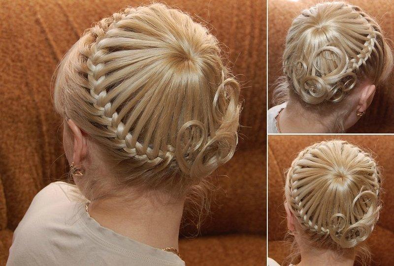 Заплетенные прически заплетенные волосы