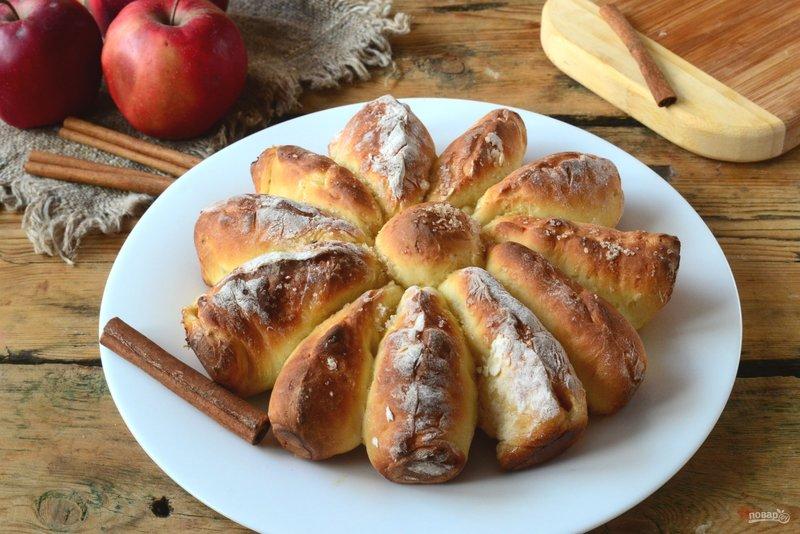Отрывной яблочный пирог рецепт с