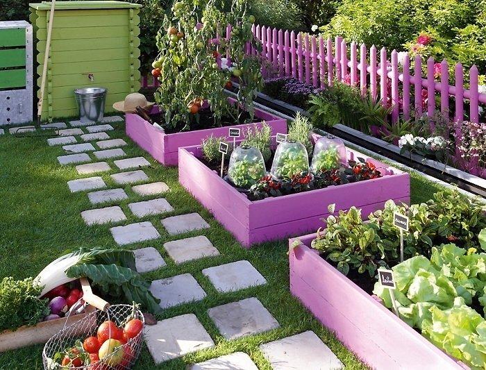 Оформление сада своими руками фото