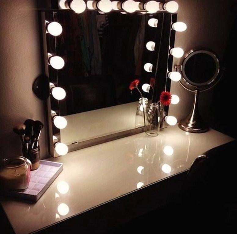Как сделать зеркало для макияжа с подсветкой 70