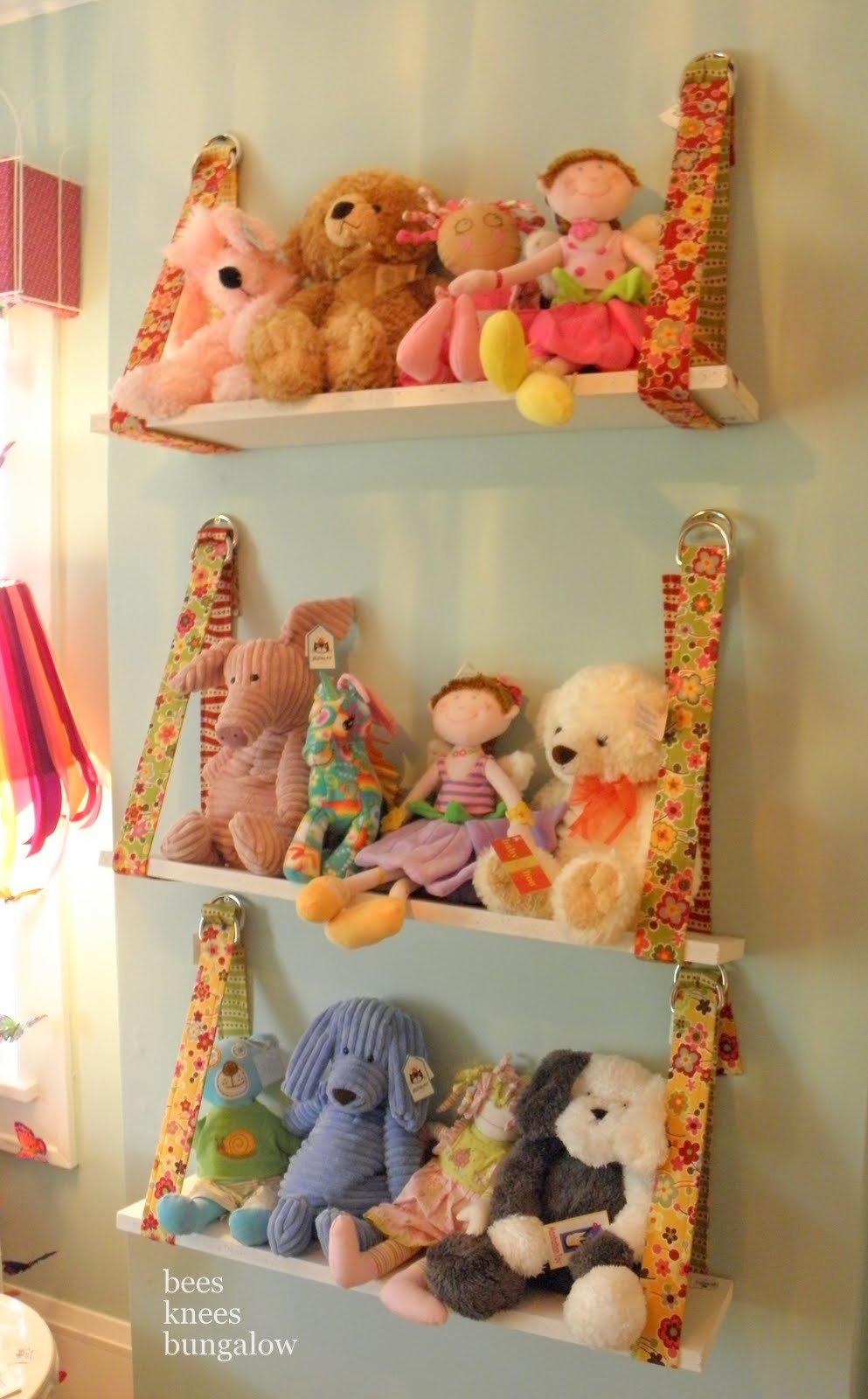 Идеи хранения игрушек своими руками