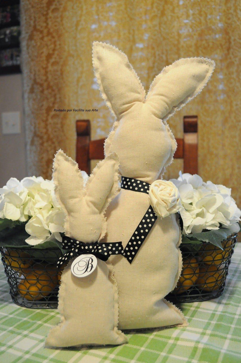 Прикольный кролик своими руками