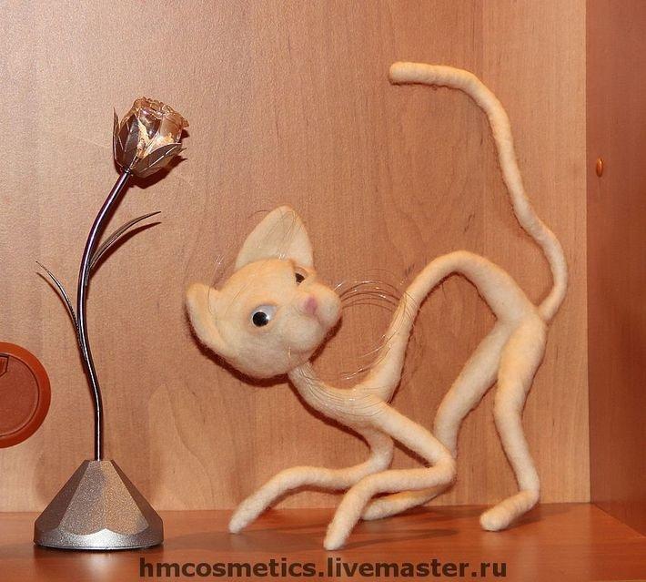 Интерьерные игрушки своими руками интерьерные котики 96