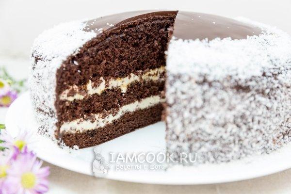 Торт бисквитный с творожным кремом рецепт с пошагово в домашних условиях