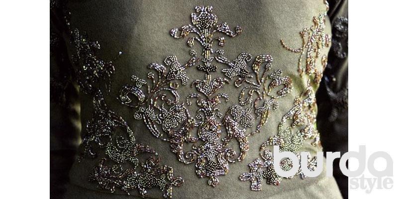 Вышивка бисером платья мастер класс 94