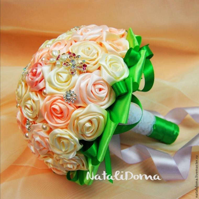 Букеты на свадьбу для невесты своими руками