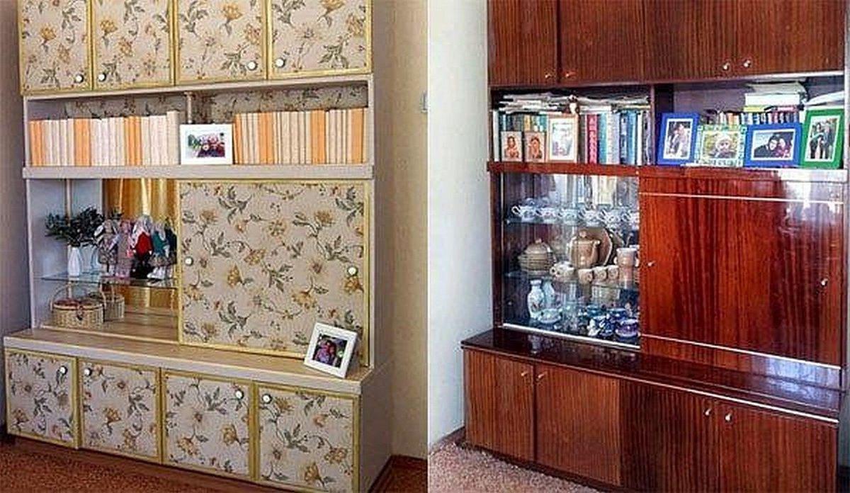 Как обновить полированную мебель своими руками фото