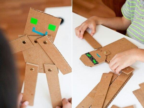 Как сделать из картонной бумаги 721