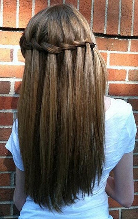 ежедневные прически для длинных волос в домашних условиях фото