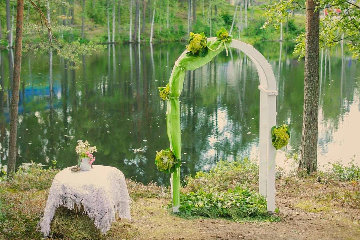 Как сделать каркас для задника для свадьбы своими руками