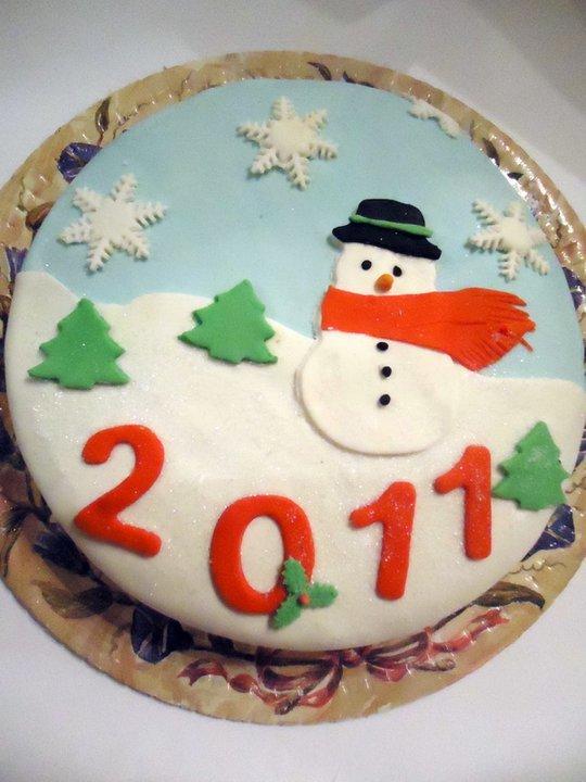 Рецепты новогодние торты из мастики