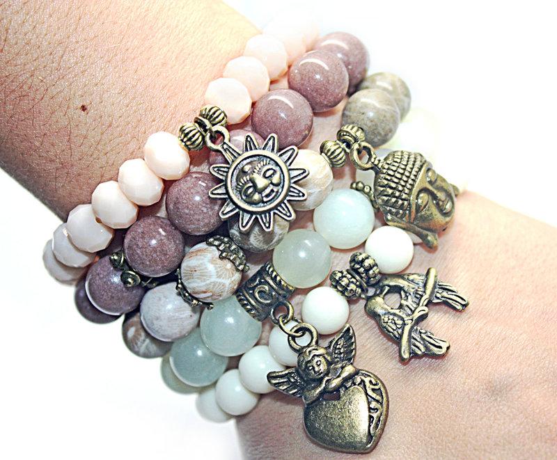 Сделать браслет из камней своими руками
