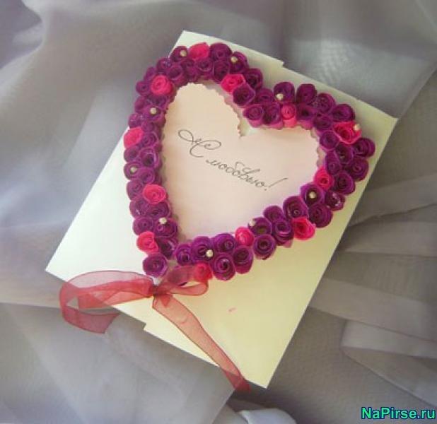 К 14 февраля сердечки своими руками