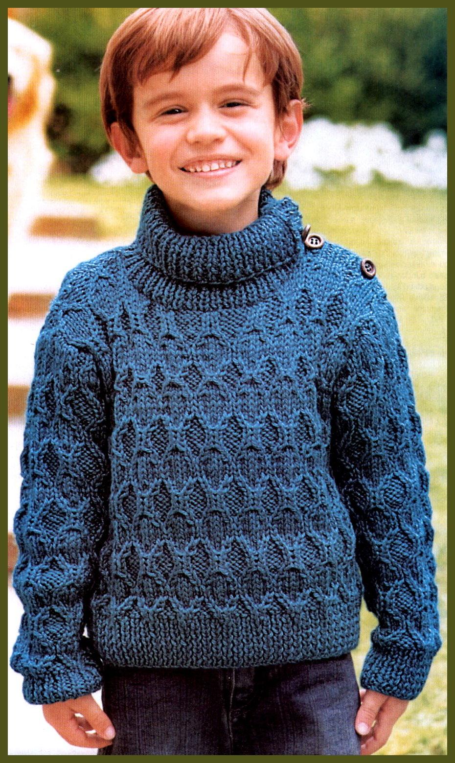 Вязание для мальчика 8 9 лет 19