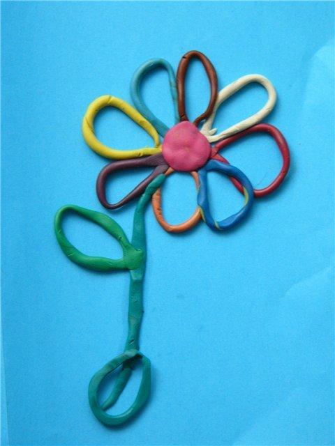 Поделки из пластилина для детей 4 года 94