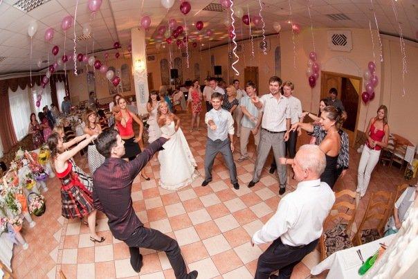 Весёлую музыку для свадьбы