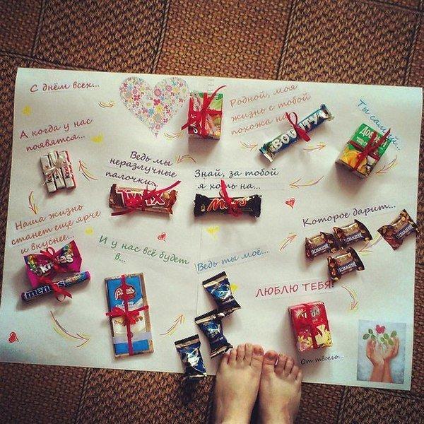 Подарок своими руками для любимого идеи с фото