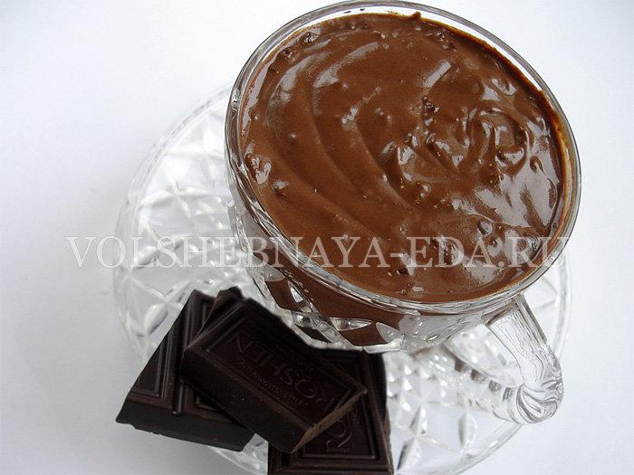 Горячий густой шоколад рецепт в домашних условиях