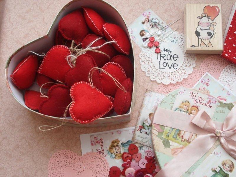 Подарок на святое валентина сделанный своими руками