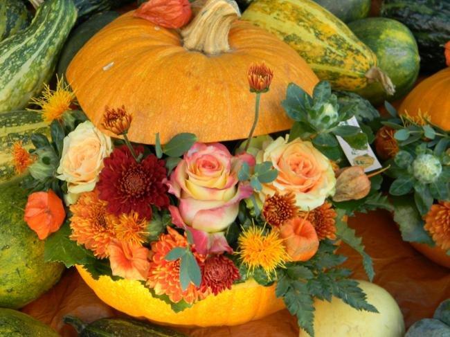 Осенние поделки из тыквы своими руками для школы фото