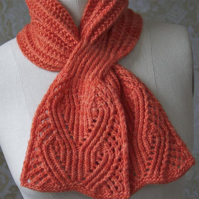 Вязание красивые женские шарфы 51