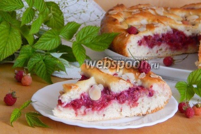 Простой рецепт пирога с малиной в духовке