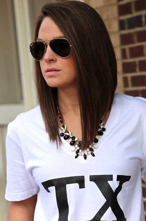 Haircut styles shoulder length
